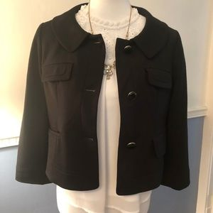 EUC - Loft Black Blazer size 8